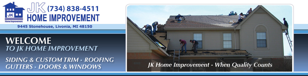 Roofing - JK Home Improvement