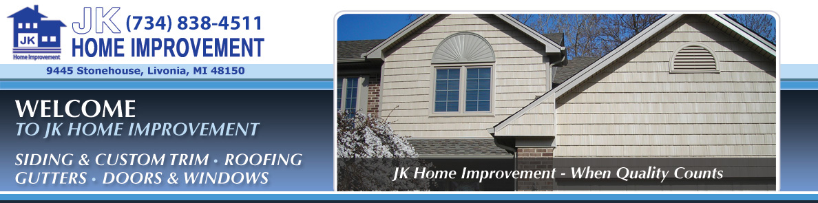 Siding and Custom Trim - JK Home Improvement